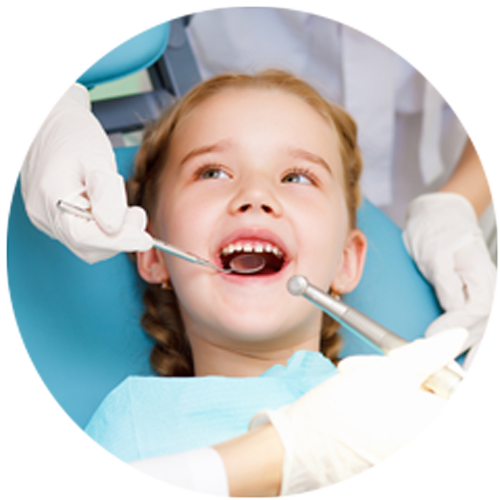 an image of a children dentist in milton