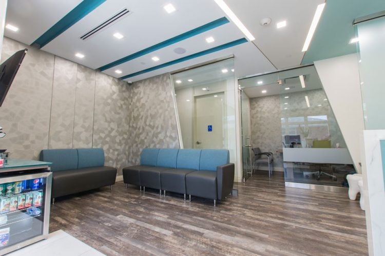 photo of Trilliant Dentistry waiting area